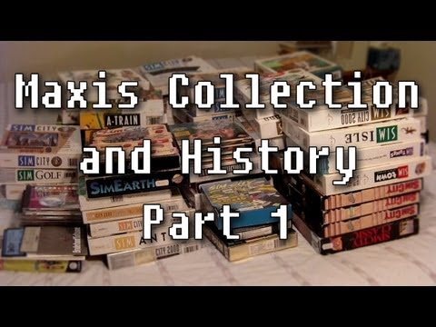 LGR - Maxis Collection and History (Part 1 of 3) 1984-1993