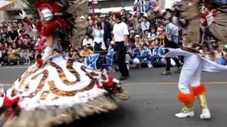 2011.10.9.ところざわ祭り 恒例のサンバ.