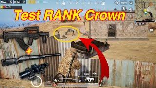 PUBG Mobile | SOLO Squad Rank CROWN || Cướp Được GROZA + M24 = 20 Kills Win √
