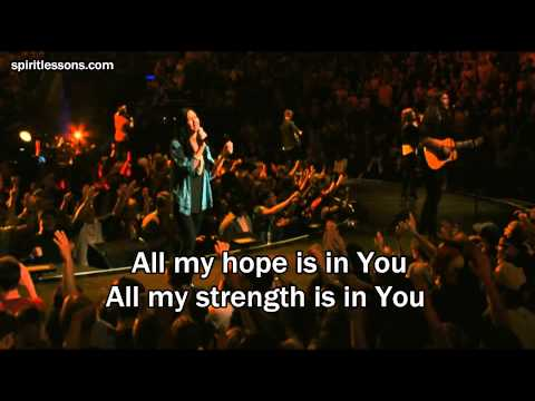 All My Hope - Hillsong Live (Lyrics/Subtitles) 2012 DVD Album Cornerstone (Jesus Worship Song)