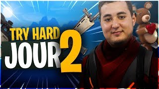 DEUXIEME JOUR DE TRY HARD EN SQUAD ! ft. Mickalow Zerator Gius ► BOOTCAMP FORTNITE