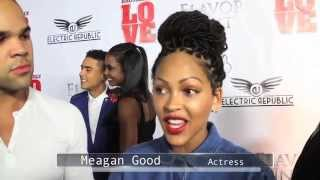 meagan good attends brotherly love film premiere
