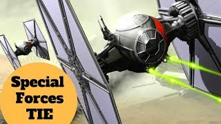 COMPLETE BREAKDOWN! First Order Special Forces TIE Fighter TIE/sf - Star Wars Ships Explained