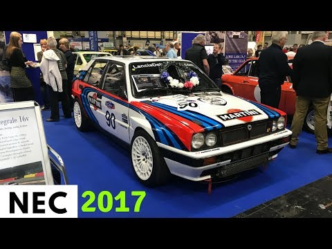2017 Classic Motor Show NEC Birmingham UK (Walkaround Vlog) - Stavros969