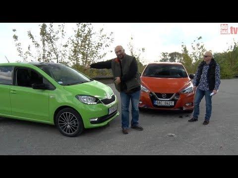 Auta bez ściemy - Skoda Citigo kontra Nissan Micra