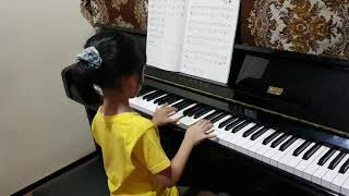 """Pianoforte II """"A Posed Girl"""" By Kayleen(My Student)"""