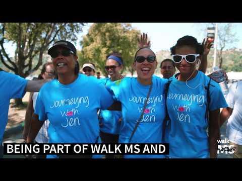 Jennifer talks about Walk MS