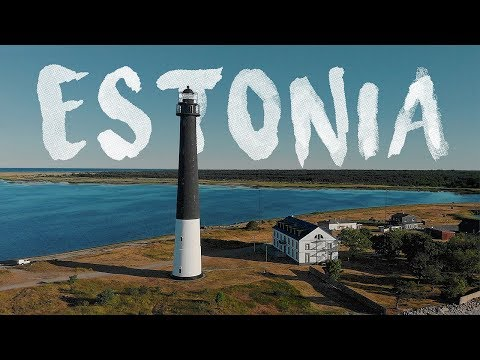 Beautiful ESTONIA ~ Cinematic Aerial Drone