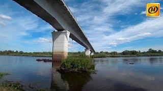В Гомеле закрывают автомобильный мост через реку Сож