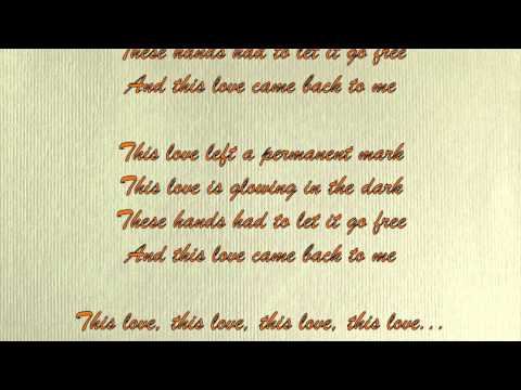 This Love by Taylor Swift - LYRICS HD
