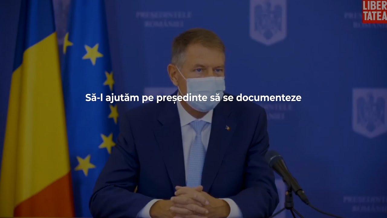 Președintele Iohannis n-a văzut ultimul material Recorder. Să-l ajutăm să se documenteze!