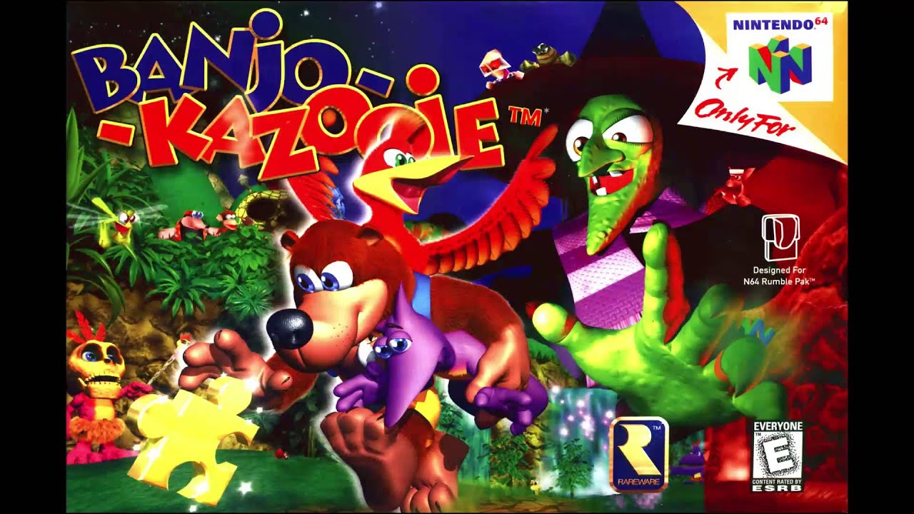 Banjo-Kazooie Theme - Heavy Metal Cover Mashup ...