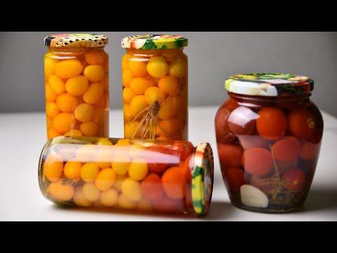 🍅Маринованные помидоры ЧЕРРИ на зиму. Простой и вкусный рецепт консервации