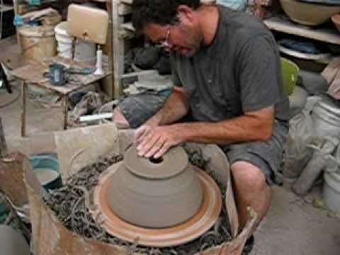 Handmade Pottery Sink, Turned Inside Out