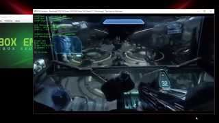Halo 4 PC gameplay and setup on BoxEmulator (Xbox 360 Emulator) 1.04