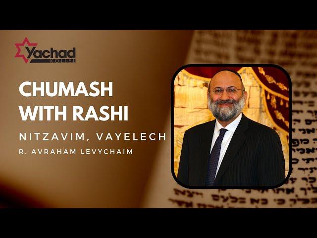 Chumash with Rashi - Nitzavim, Vayelech - R. Avraham Levychaim