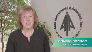 Aero Instruments & Avionics Trade Show Video