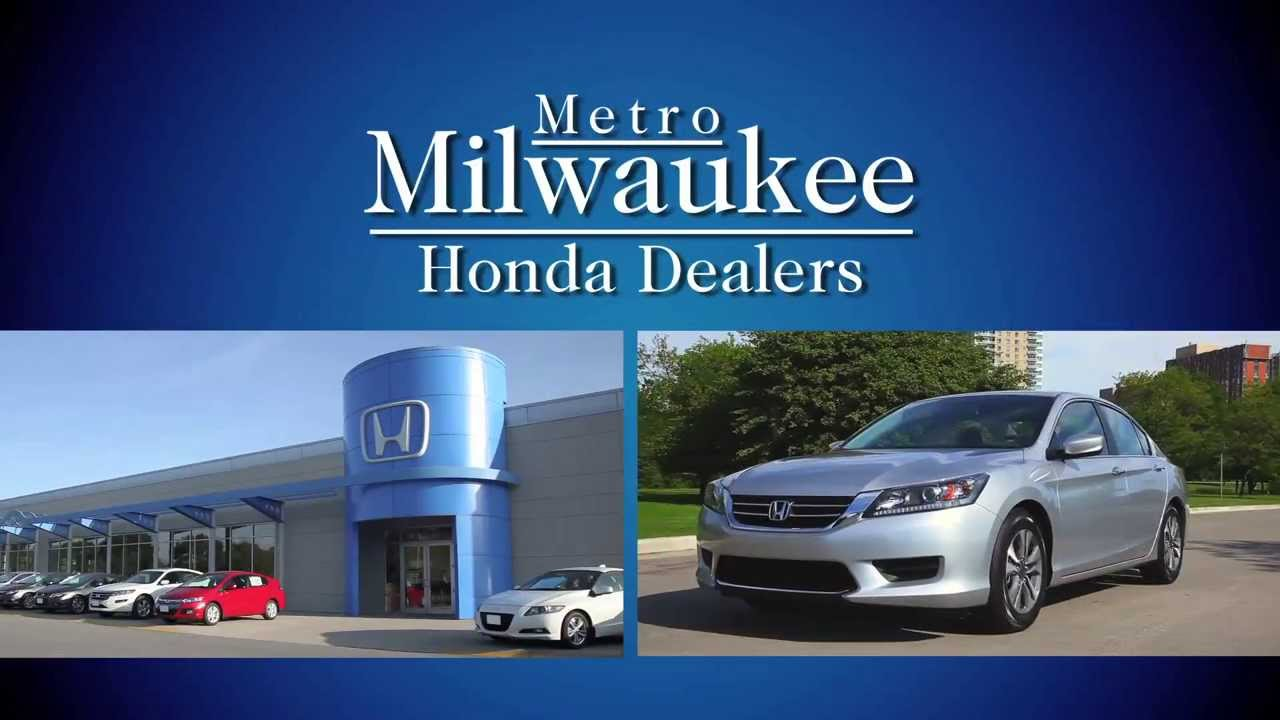get up and go to your metro milwaukee honda dealers youtube