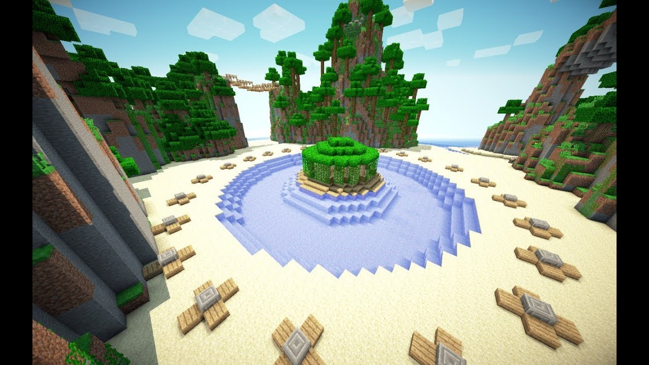 Minecraft hunger games breeze island download