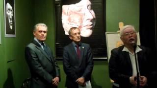 «Древние лики Хакасии». Открытие выставки