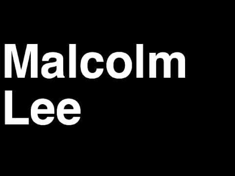 How to Pronounce Malcolm Lee Minnesota Timberwolves NBA Basketball Player Runforthecube