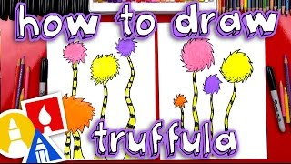 How To Draw A Truffula Tree