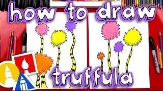 How To Draw A Truffula Tree