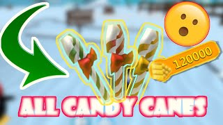 HOW TO THOUSANDS OF GOLD BY COLLECTING CANDY CANES | ROBLOX SNOWMAN SIMULATOR