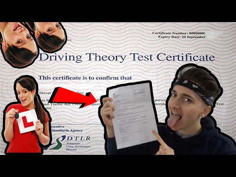 How to pass Your THEORY Driving Test ( FIRST TIME ) !
