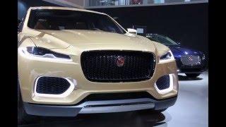 Upcoming Jaguar CX17 Concept Car at Delhi Auto Expo 2014