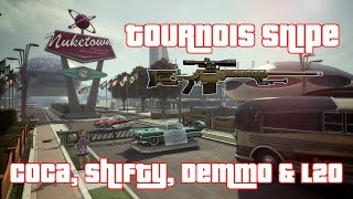 |►BO2 | Tournois Snipe L2O vs #3 Demmonex vs Coca vs Shifty !