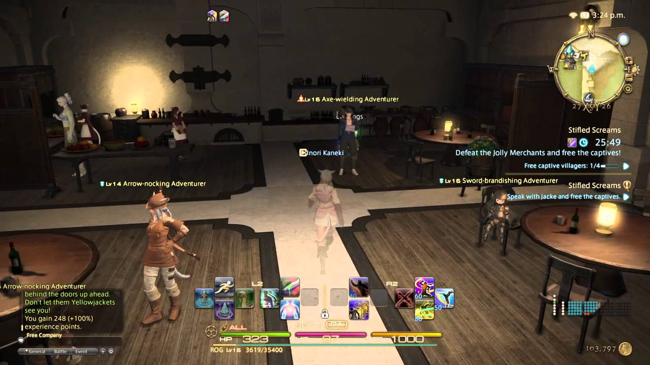 realm reborn how to become a rogue