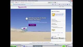 Learn Computer in Hindi - How to send email from Yahoo