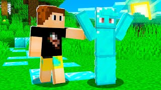 Minecraft But Everything We Touch = DIAMONDS!