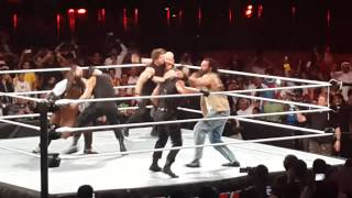 wwe live in saudi arabia riyadh the shield vs the wyatt 17 4 2014