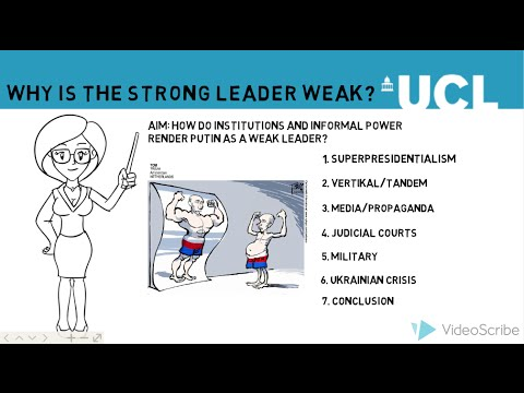 Putin: Why Is The Strong Leader Weak?