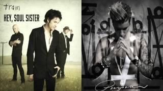 Justin Bieber Vs. Train -