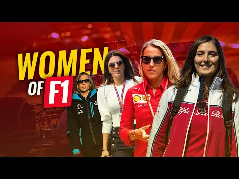 WOMEN OF FORMULA 1