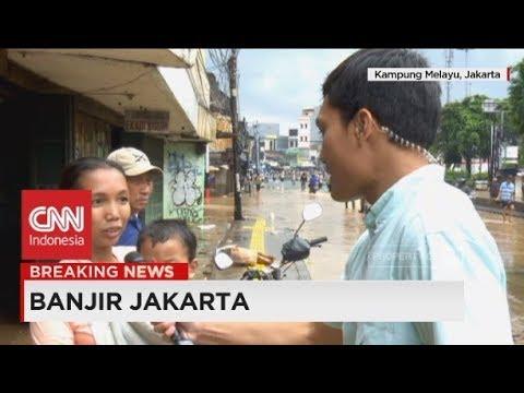 Banjir Jakarta 2018; Susahnya Ajak Warga Untuk Dievakuasi