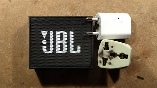 Dead JBL speaker and melted PSU.  Which died first?