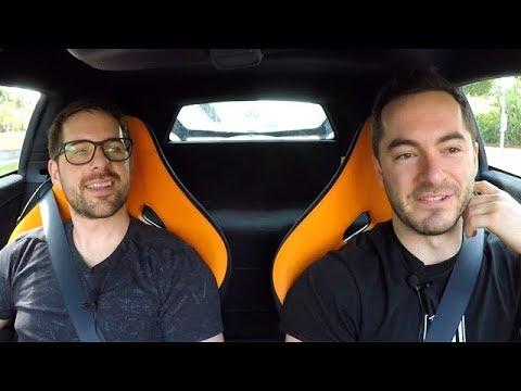 Driving the McLaren with Ian Hecox (Smosh)