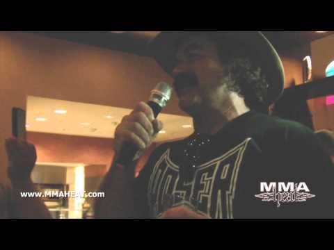 "MMA Legend Don ""The Predator"" Frye Sings Karaoke"