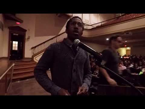 Former Muskegon student gives fiery speech at MPS school board meeting