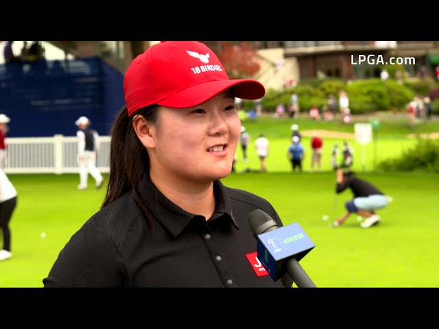 Angel Yin Talks Second Round 67 in the 2019 Cambia Portland Classic