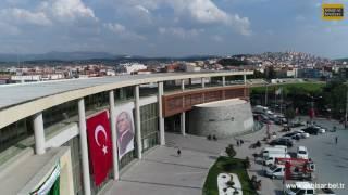 Akhisar Belediyesi ve Milli Egemenlik Meydanı (4K Drone)