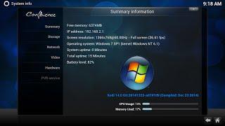 installeren kodi home cinema windows 7 (kodi is de opvolger van xbmc)