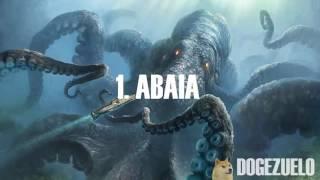 Los 10 monstruos marinos mas grandes del mundo