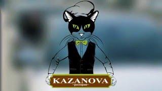 KAZANOVA катается на Ягуаре в Калуге.