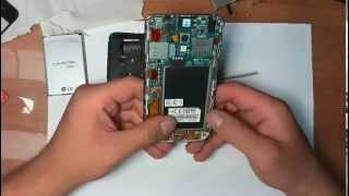 Ремонт телефона LG P715. Не работает динамик разговора.(Разборка и ремонт телефона LG P715. После падения, перестал работать динамик разговора. После восстановления..., 2015-07-19T17:27:41.000Z)