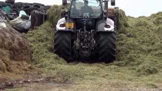 Silage 2012 2nd Cut Braehead Collin Dumfries.